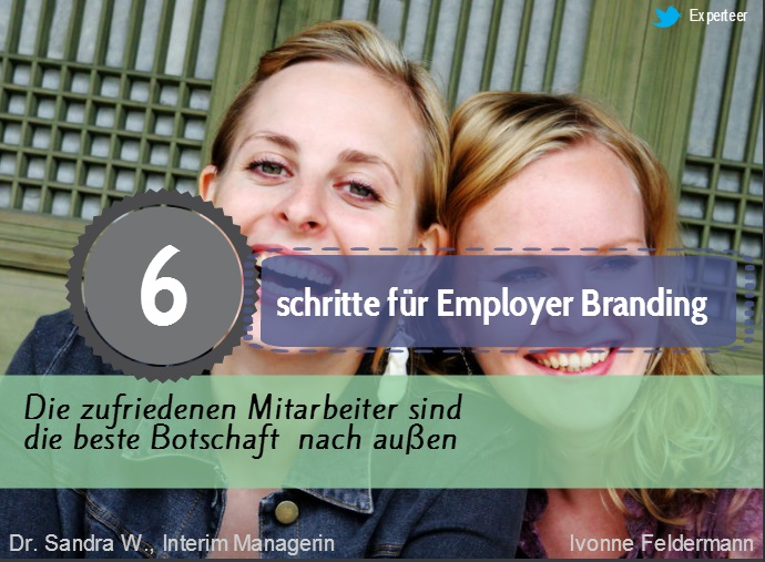 Employer branding steps