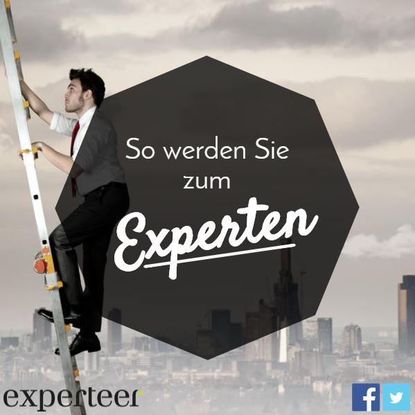 Wie Sie sich als Experte vermarkten