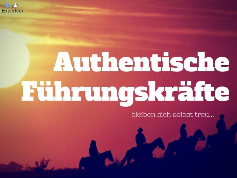 Authentische Führungskraft