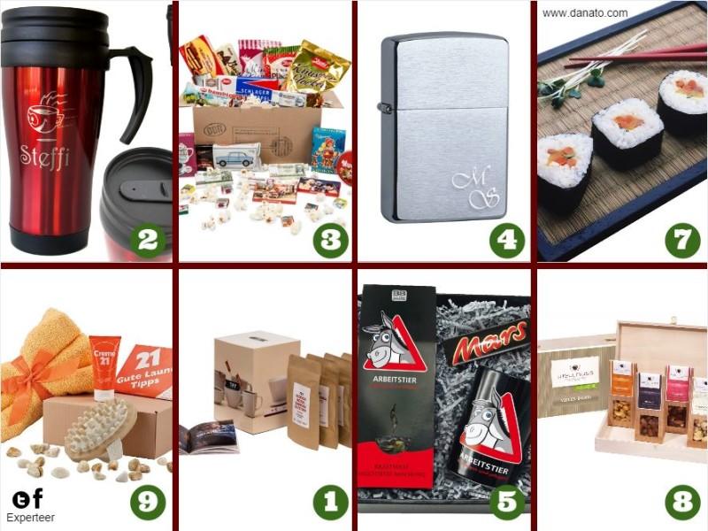 10 weihnachtliche Geschenkideen für den Chef