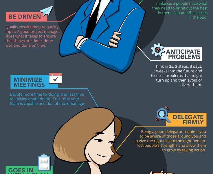 Die besten Eigenschaften eines guten Projektmanagers