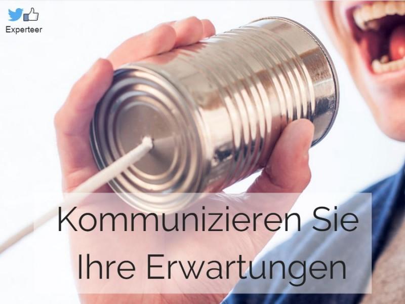 Erwartungenshaltungen kommunizieren – eine wichtige Führungskompetenz