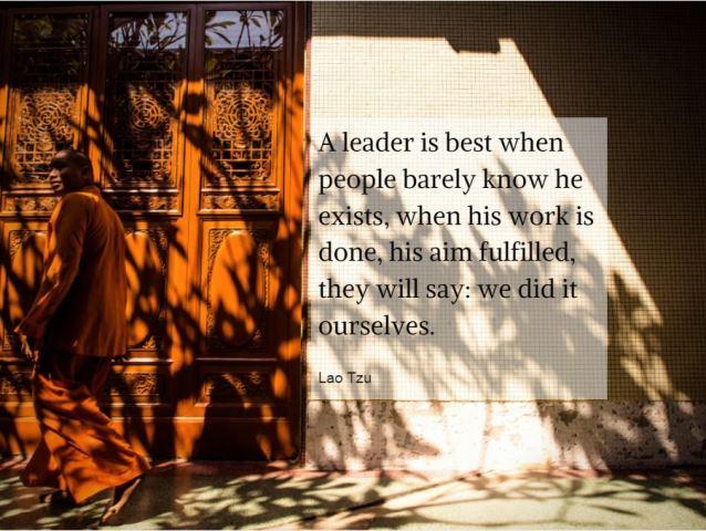 Die 3 Anzeichen einer großartigen Führungspersönlichkeit