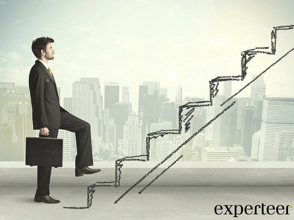 Karriereschritt erwuenscht Verlassen Sie Ihre berufliche Komfortzone