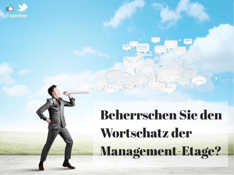 Business-Denglisch Beherrschen Sie den Wortschatz der Management-Etage