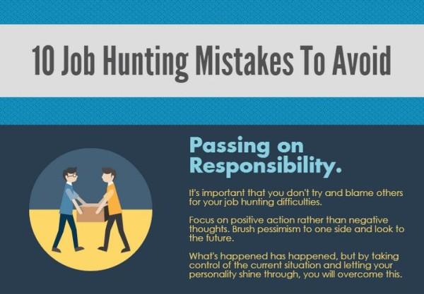 Die schlimmsten Fehler bei der Stellensuche