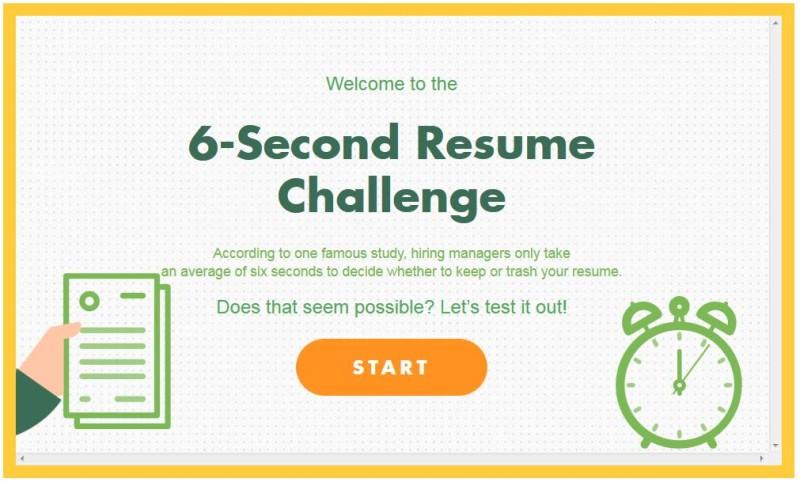 Durch die Recruiterbrille: 6 Sekunden entscheiden über Ihren ...