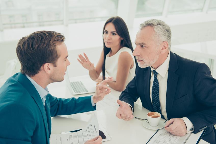 Meinungsverschiedenheiten im Büro