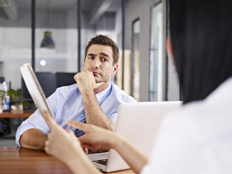 Merkwürdige Fragen im Bewerbungsgespräch
