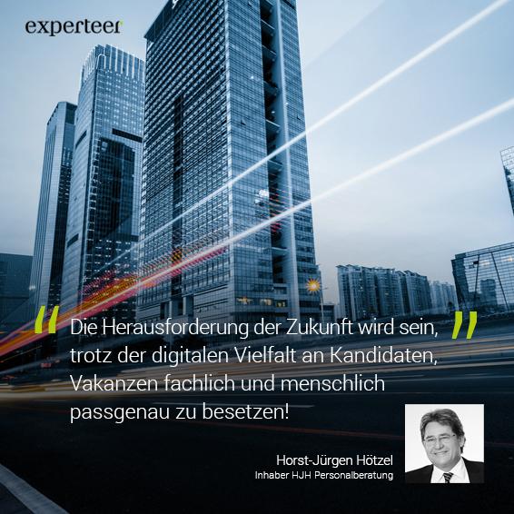 Horst-Jürgen Hötzel Headhunter