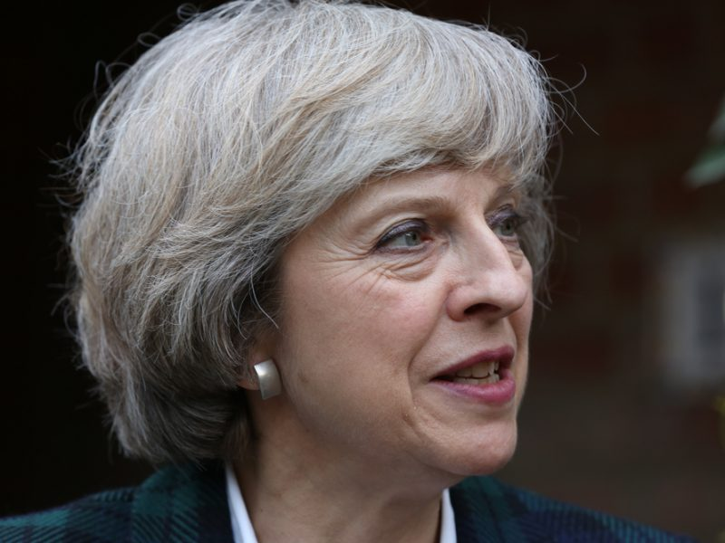 Theresa May betreibt Krisenmanagement
