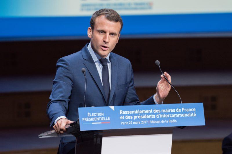 Emmanuel Macron Führungspersönlichkeit