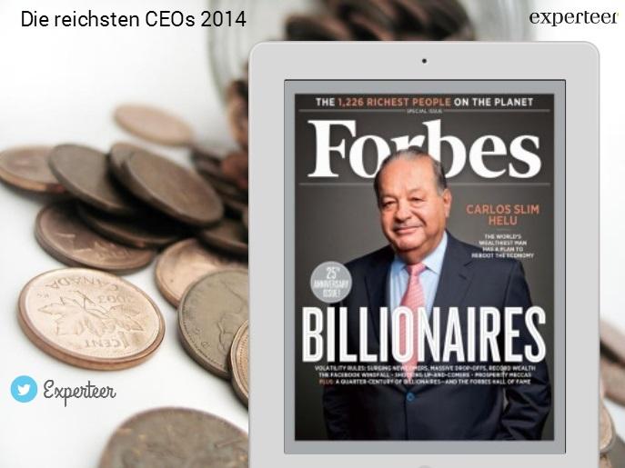 Forbes Liste 2014 Die Reichsten Ceos Der Welt
